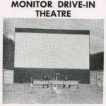 1957 Monitor Drive-In Theatre