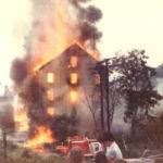 July 4, 1978 Peach Creek YMCA burning