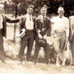 Unknown men at Monaville, WV