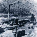 Railroad Yard at Peach Creek, Logan County, W. Va.