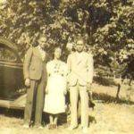 Walter and Lillian Martin and one of their sons courtesy of Lillian Porter-Smith.