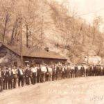Duhue, WV UMWA Local 5869 Parade, April 23, 1934