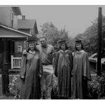 Graduation 1959 - Yvonne Floyd, Don Cornette, Lillian Porter and Anne Easterling at Dehue