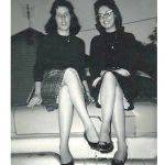 Lillian Porter Smith and Dolores Riggs Davis,