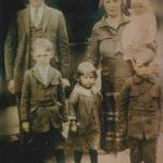 George Dewey and Cora Lackey Porter, children Beatrice, George Jr., Marge and John Porter