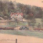 1909 Logging Train, Holden, WV