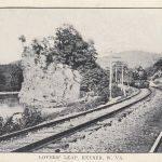 1910 Postcard, Lovers Leap, Keyser, WV