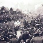 Troops camped at Blair