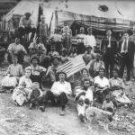 1922 Stirking union miners Lick Creek, WV.