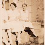 1933 Margaret McCormack Hinkle (center), Holden Hospital, Holden, WV.