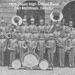 1935 Logan High School Band