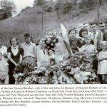 1938 Funeral of Norma Baisden at Mud Fork