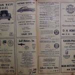 1947 Telephone  Book Yellow Pages (6-7)