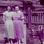 1955 Penny Baisden and Ruth Baisden