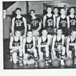1956 Logan Junior High Kittens Basketball Team
