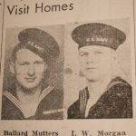Ballard Mutters and I.W. Morgan WWII Sailors