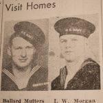 Ballard Mutters and I.W. Morgan WWII Sailors