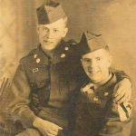 Bernie Dingess (on the right) killed in Korea