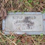 Bishop Harold Browning