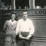 Buddy & Lois Deskins.  Buddy drove a school bus for Logan County Schools.  My Mother, Virginia McCormack rode his bus from the Monitor Junction to her school at Verdunville.