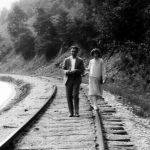Clovis McComack and Virginia Taylor.  Taken in 1928 on the railroad at Monitor, WV.