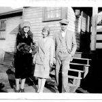 Ehtel Taylor, Virginia Taylor and Johnny Lucas