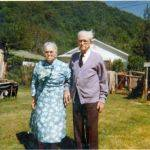 Fred and Bertha Hutchinson of Whites Addition - their last home.  For many years they lived in the Ethel coal camp.