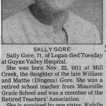 Sally Gore (4-May-1983)