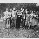 Church group taken early 1920s - perhaps at Monitor.