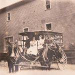 Island Creek Stores Wagon, Holden, WV early 1900s