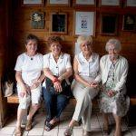Joan, Doris, Jean and Excel Browning.