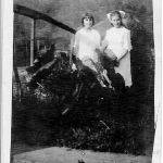 Leona Brown and Virginia Taylor 1920