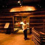 Monaville Log Schoolhouse Exhibit