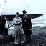 General, Chuck Yeager and Mayor, Litz McGuire