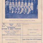 1964 Logan Civic Little League All Stars