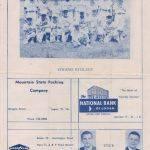 l1965 Logan Civic Little League Booklet