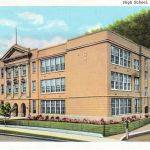 Logan High School Postcard