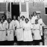 11 - 1923 Logan Junior High Sewing Class