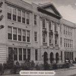 Logan Senior High School Postcard