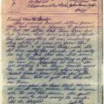 WWII V-Mail from Marine PFC David Ryan