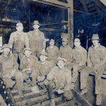Workers from the Opperman Mine
