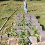 Steps up to the McDonald Cemetery (4)