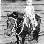 1 - Peggy Hensley on Beauty the Pony