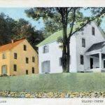 Holden, WV 1940s Postcard