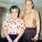 Rev Russell and Annabelle Wooten 1990.  Russell pastored many years in Indiana
