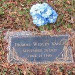 Thomas Wesley Vance