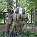 The Three Vietnam Soldiers Statue