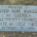 United Mine Workers Donation Plaque