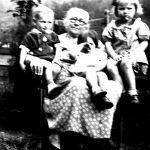 Virginia Jones with grandchildren Helen Frances Jones and Johnny Jones Jr.
