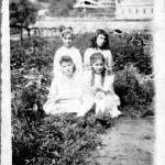 Virginia Taylor and the Roberts girls 1921